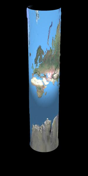 Cylindrical world